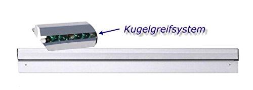 Kerafactum® - Profi Bonleiste Notizleiste Bonschiene Schiene für Notizen und Rezepte - Klemmleiste