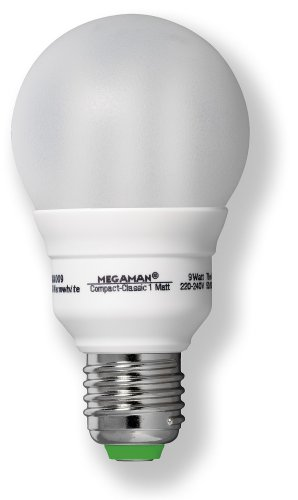 Megaman 610297 ESL COMPACT CLA Energiesparlampe 20W E27 230V 827 matt -