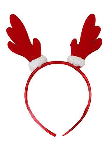 FGDJTYYJ Nette Red Dragon Hörner Halloween Headband (1 Stück)