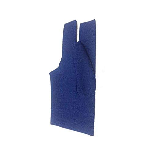 Nowear Lycra Billard Queue Glove Pool Left Hand öffnen DREI-Finger-Handschuh Fitness Zubehör -