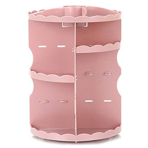N/ YAOUXSN 360 Grad Drehmake Up Aufbewahrungsbox Verstellbare Multifunktionale Parfüm Lippenstift Vitrine Für Kosmetik Und Accessoires