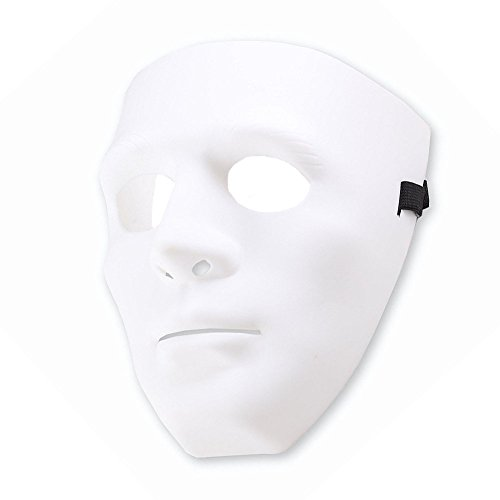 olles Gesichtsmaske Hip Hop Tanz Mode Cosplay Maske für Halloween Masquerade Party (Jabbawockeez Kostüme)