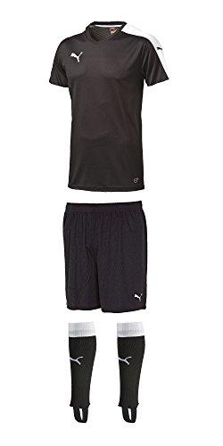Puma Herren Pitch Trikotsatz Artikel Bundel, 14 er Pack, Black-White, OSFA