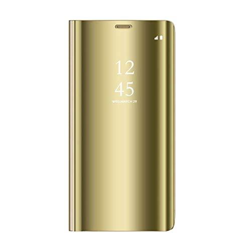 Altsommer Schutzhülle für Samsung Galaxy Note 9 Hülle Spiegel Case Cover Hülse mit Aufwecken Leder Ständer Halter Fall Abdeckung Case Tasche Schutzhülle Handyhülle mit Wake up