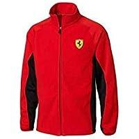 Ferrari Chaqueta hombre cremallera rojo talla XL
