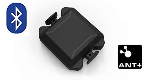 Geschwindigkeit & Trittfrequenz/Speed & Cadence Sensor ohne Magnet für iPhone, Android, Fahrradcomputer, Wahoo RPM,Sigma Duo, Polar - Polar Speed Sensor