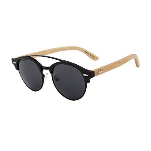 cofash-unisex-sonnenbrille-polarisierte-halb-ohne-metallrahmen-marke-retro-doppel-brucke-bambus-temp