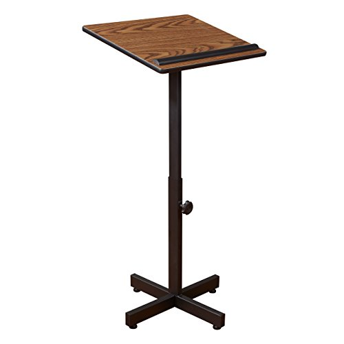 Oklahoma Sound 70-mo tragbar Präsentation Rednerpult, 50,8cm Länge x 18-1/10,2cm Breite x...