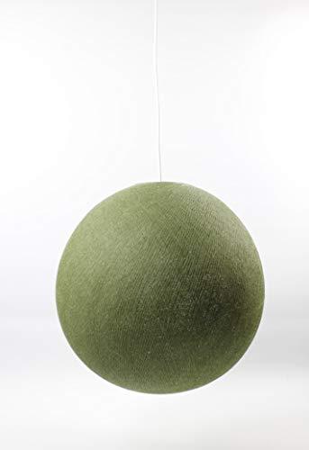 Cotton Ball Lights Kaki 36cm Hängelampe einzeln, Baumwolle, 36 cm