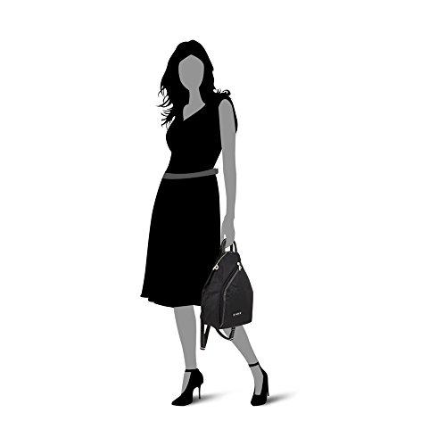 Picard Damen Backpack Rucksackhandtasche, Grau (Anthrazit), 5.9x31x29 cm schwarz