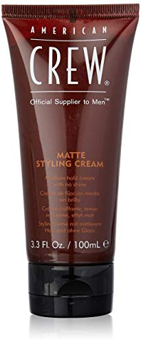 AMERICAN CREW MATTE STYLING CREAM Mittlerer Halt  Mattes Finish,1er Pack (1 x 100 ml)