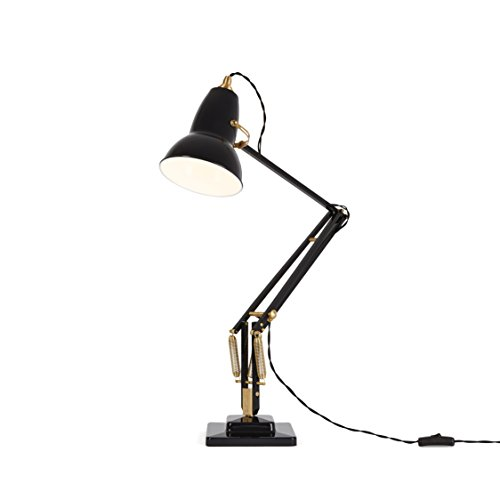 Anglepoise Original 1227 Brass Desk Lamp – Deep Slate