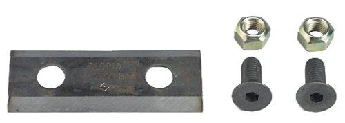 GLORIA Zubehör Flach Messer Euro, silber