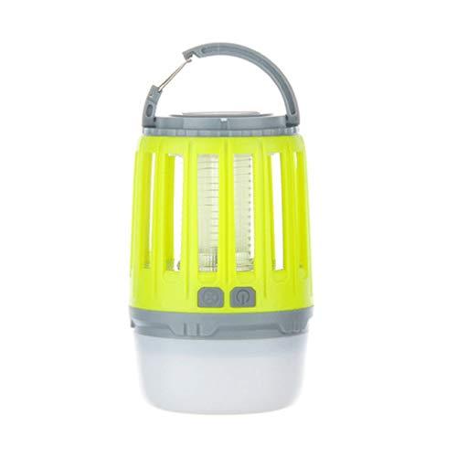 WYL Camping LanternLED Moskito Lampe Portable Outdoor Zelt Licht Taschenlampe Wandern Multifunktions Outdoor Wasserdicht Silent Kronleuchter,Yellow -