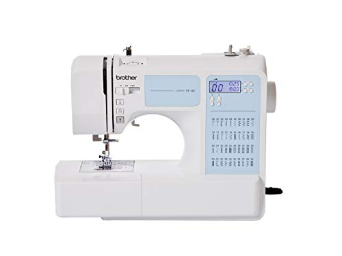 Brother FS40 40-Stitch Electronic Sewing Machine with Instructional DVD