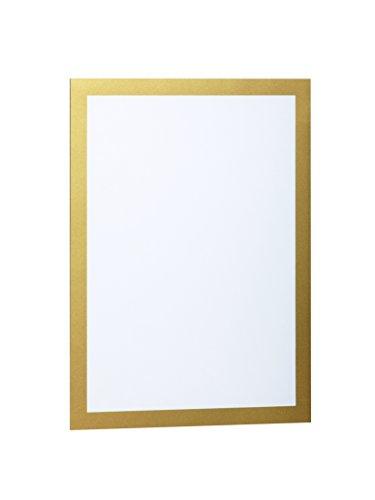 Durable 487230 Magnetrahmen Duraframe A4, 322 x 236 mm, Beutel à 2 Stück gold