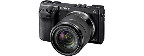 Sony NEX-7KB Systemkamera (24 Megapixel, 7,5 cm (3 Zoll) Display, Full HD Video) Kit inkl. 18-55 mm Objektiv - 3