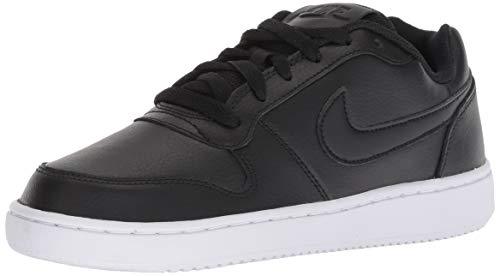 Nike Wmns Ebernon Low, Zapatos de Baloncesto para Mujer, Black/White 001, 42 EU