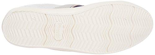 Wrangler - Vidy Derby Leather, Scarpe da ginnastica Uomo Bianco (Weiß (51 WHITE))