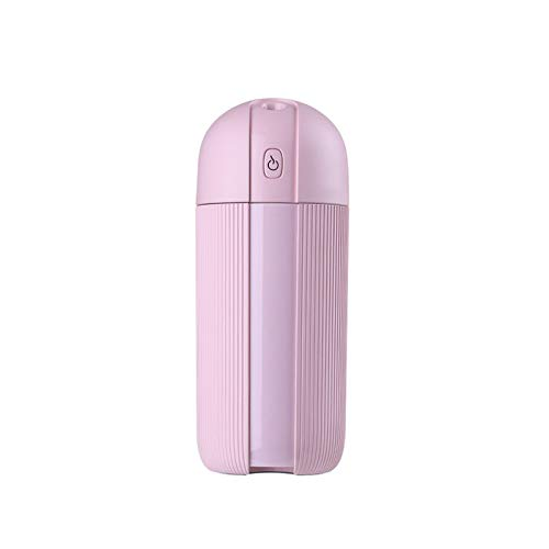 Rosa USB Ultraschall Luftbefeuchter 280 ML Aromatherapie Diffusor Air Mist Maker Aroma Befeuchtung Für Home Car Office 165 * 68 * 66mm