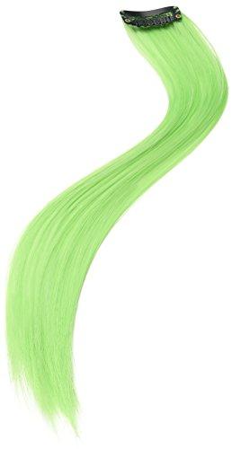 Smiffys 20461 - Haar-Verlängerungen Zwei, Action Dress Ups und Zubehör, neon grün (Neon Grüne Haare)