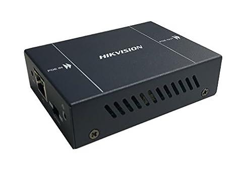 DS-1h34–0101p HIKVISION, PoE Répéteur (1entrée/1sortie) PoE Extender avec 1entrée et sortie 1poe prend en charge le mode de Extend pour des appareils de la Alimentation. Dans eingeschaltetem Exten Mode peut la portée dans Infrastructures réseau einstufigen pour nouveau jusqu