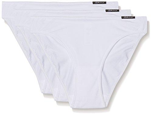 Essentials Women Rio Slip 3er Pack, Gr. 42 (42), Weiß (WHITE 0500) ()