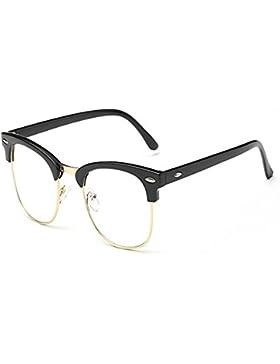 Aiweijia Gafas bloqueadoras de Blu-ray Gafas antifatiga Lentes de lentes transparentes