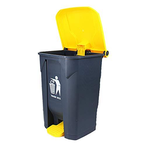 Dustbins Outdoor MüLleimer Pedal Mülleimer Outdoor Sanitation Mülleimer Mit Großer Kapazität Hotel Park Garden Trash Can 100L
