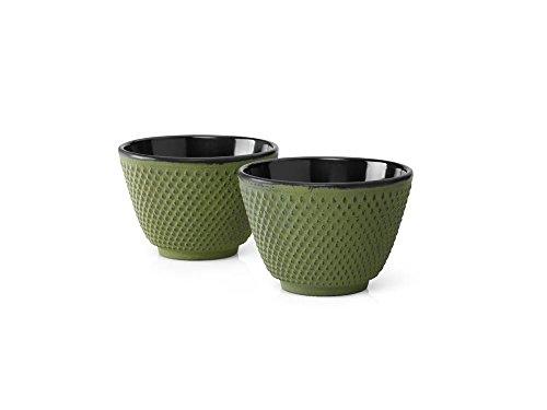 Bredemeijer G004GR - Tazas de té Xilin, verde (juego de 2)