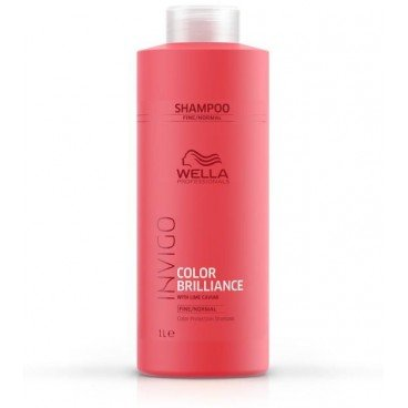 Wella Invigo Color Brilliance Protection Shampoo 1000 ml Pflegendes Shampoo für coloriertes, feines & normales Haar