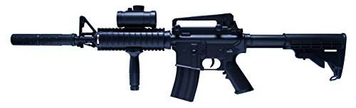 Schmeisser AR-15 <0, 5 Joule AEG-System, Kaliber 6mm Airsoft Gewehr, schwarz, 84 cm