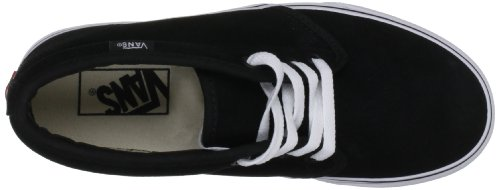 Vans U Chukka Boot, Baskets mode mixte adulte Noir (Black/White)