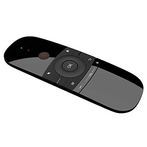 Air Maus, 2.4G Wireless Mini Tastatur, Fly Maus mit Maus Spiel Griff, Android Fernbedienung für Smart TV Android TV Box PC HTPC IPTV Media Player