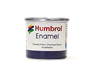 Humbrol - Pintura Esmalte, Color Aluminium (Hornby AA0610)