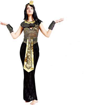 Cleopatra!    ¡Conviértete en la reina de Egipto en varias ocasiones!   - Varias ocasiones: carnaval, Halloween, cosplay, fiesta temática, fiesta de disfraces, sesión de video, despedida de soltera,  - Tipo de producto: Realista Cleopatra Costume Se...