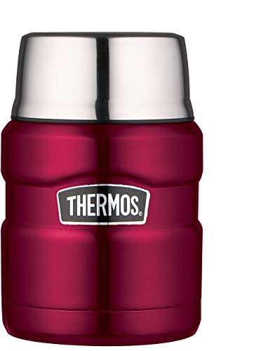 Thermos Inoxidable Rey Alimentos Frasco,...