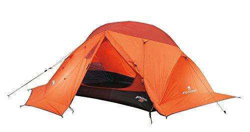 Ferrino 99077EAFR Tienda de campaña Acampada y Senderismo Unisex Adulto, Naranja (Orange), Talla Única