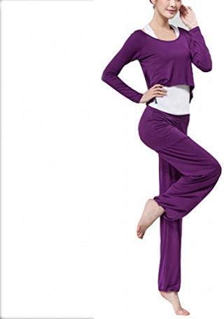 Andre Home Vestiti di Yoga Tuta Tuta Tre Tre Tre Pezzi Manica Lunga moal Sportswear Abbigliamento Sportivo (Coloree   Dark viola, Dimensione   XL) B07MQXQ2D9 Parent | Raccomandazione popolare  | Economici Per  | Exquisite (medio) lavorazione  | Spaccio  | Div 189b61