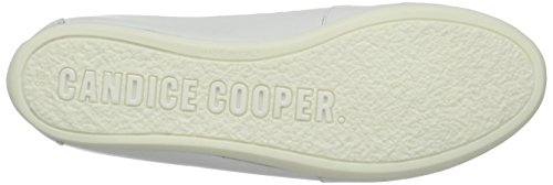 Candice Cooper Rock.double.nappa, Baskets Basses femme Blanc - Weiß (bianco)