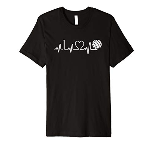 VOLLEYBALL Herzschlag. I Love Volleyball T-Shirt