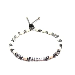 EM-Keramik Halsband für Hunde, wahlweise mit Namen und weiteren Extras, Classic – Silver Diamonds