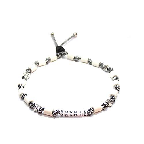 EM-Keramik Halsband für Hunde wahlweise mit Namen und weiteren Extras, Classic - Silver Diamonds
