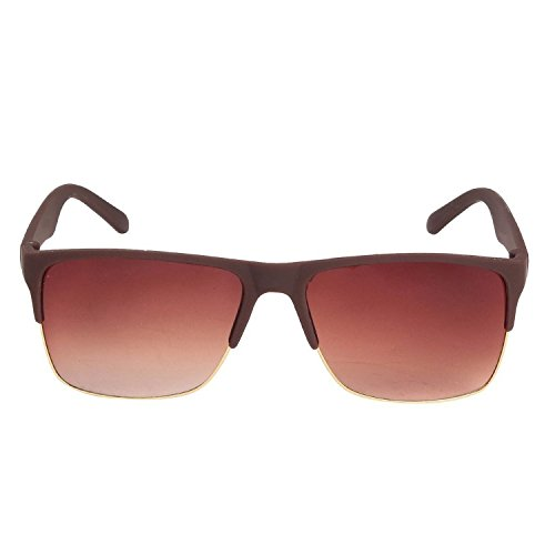 Louis Geneve Stylish & Fashionable Sunglasses for Men Wayfarer LG-SM-69-BRG-BROWN - VALENTINE OFFER  available at amazon for Rs.169