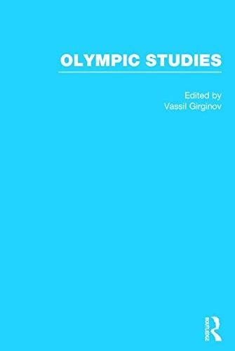 Olympic studies / ed. by Vassil Girginov | Girginov, Vassil