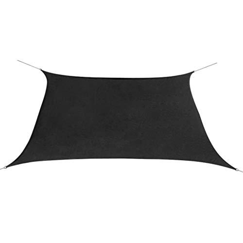vidaXL Voile de Parasol Tissu Oxford Carré Toile d'Ombrage Taud de Soleil