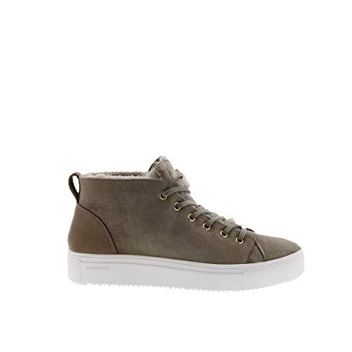 Blackstone Damen QL48 Hohe Sneaker, Grau (Iceland), 40 EU