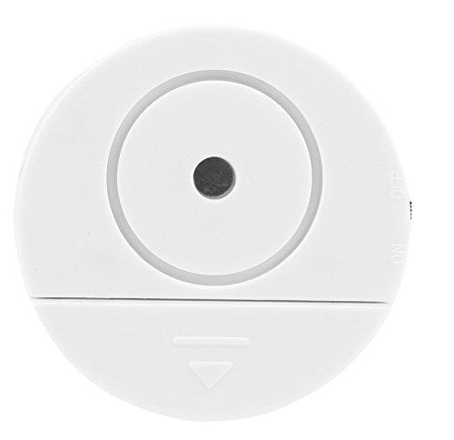 Olympia VA 200 Glasbruchmelder (mit Alarm, Rückseitiger Klebestreifen, 95 dB Alarm, Glasbruchsensor, Glasbruchalarm für Fenster in Haus und Wohnung)