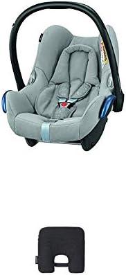 Bébé Confort Cabriofix Seggiolino Auto 0-13 kg, Ovetto Gruppo 0 +, 0-12 Mesi, Nomad Grey, con Dispositivo Anti