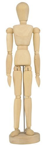 Wooden Artist Manikin - 12 Inches